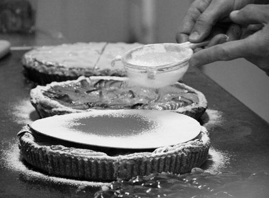 Huisgemaakte taarten